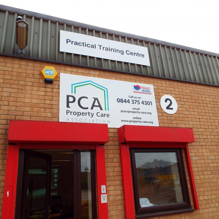 Training day at the New Property Care Association, Practical Training Centre. Alternative Repair Strategies for Traditional Buildings Present by Douglas Kent, Joe Bispham and Stephen Bull from SPAB (The Society for the Protection of Ancient Buildings). The course included understanding old buildings (circa 1919) typical construction and defects, timber decay and traditional joinery repairs and lime mortars, plasters and renders.