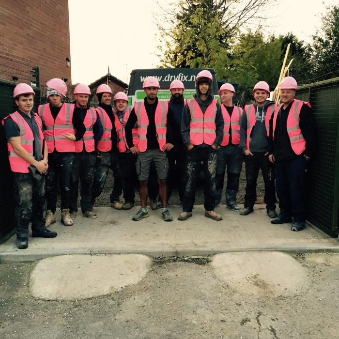#wearitpink we're in! Builders in Pink - Breast Cancer Awareness - lets raise some money!!!