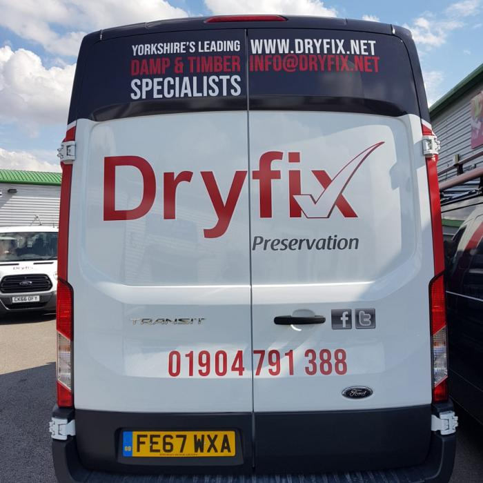 New Dryfix Vans have arrived on the scene!