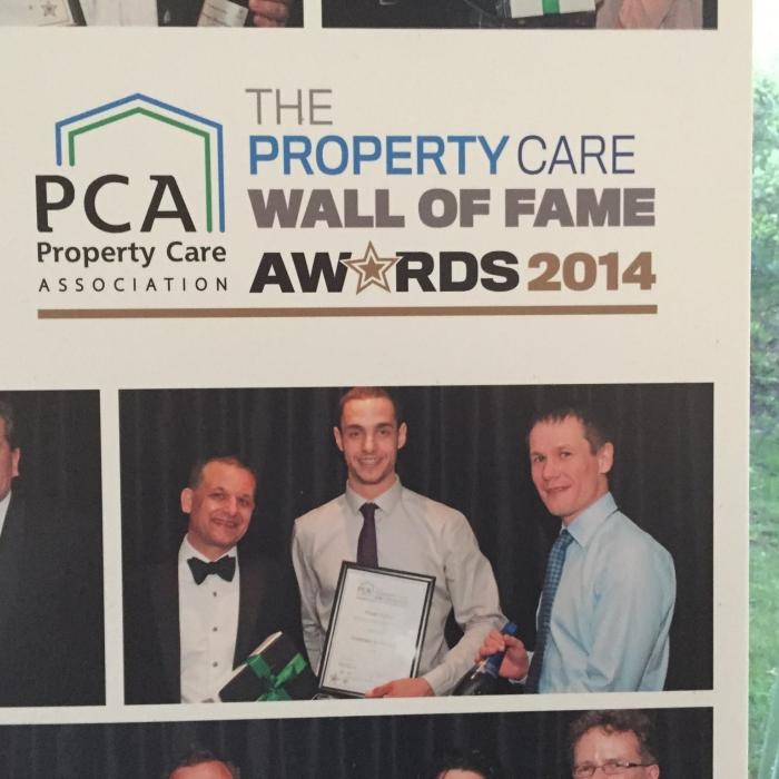 We've made it into the PCA hall of fame for previous achievements in 2015
