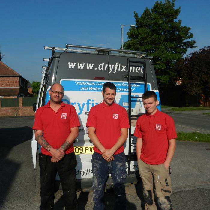 The three amigos ready for work. From left  to right; Mathew Carney (Dryfix Technician), Philip Martin (Dryfix Technician & Plummer), James Penrose (Dryfix Technician & Bricklayer).  At Dryfix our technicians are not only trained at the PCA headquarters in remedial damp and timber repair but also essentially have trade backgrounds within the construction industry which provides our staff with the essential  knowledge and practical experience of building and construction, which in my opinion is essential to anyone working within the building and preservation industry. With all our technical knowledge and practical experience there's no wonder our employees have won