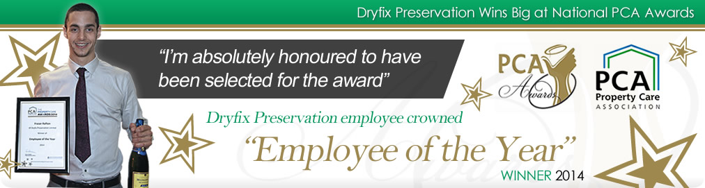 Dryfix Preservation National PCA Awards