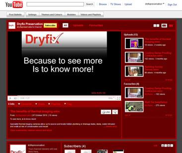 Dryfix Youtube Channel